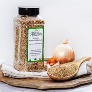 High Quality Organics Express Poultry Seasoning and Rub Display