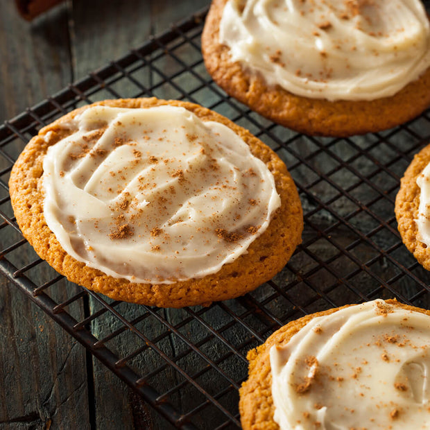 High Quality Organics Express Nutmeg in cookies with frosting