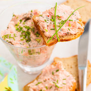 High Quality Organics Express Onion Powder with Salmon Spread