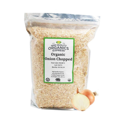 High Quality Organics Express Onion Chopped Bag
