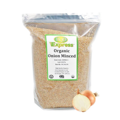 High Quality Organics Express Onion Minced Bag