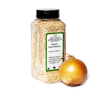 High Quality Organics Express Onion Minced Jar