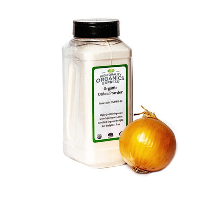 High Quality Organics Express Onion Powder Jar