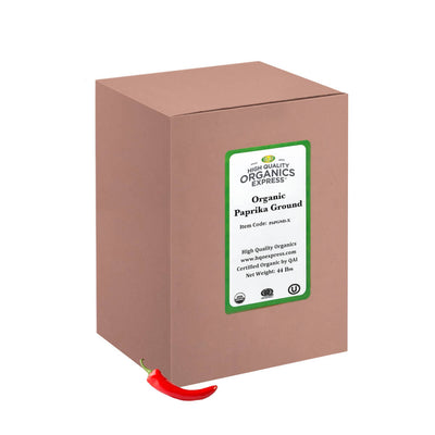 High Quality Organics Express Paprika Bulk Box