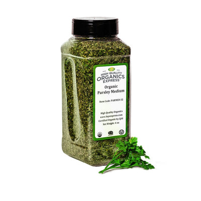 High Quality Organics Express Parsley Leaf Jar