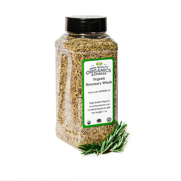 High Quality Organics Express Rosemary Leaf Jar