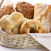 High Quality Organics Express Sesame Seed on bread loaves and bagels