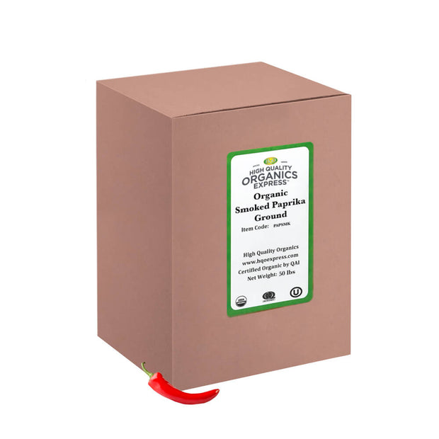 High Quality Organics Express Smoked Paprika Bulk Box