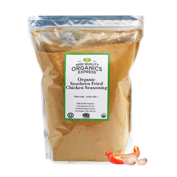 High Quality Organics Express Organic Fried or Baked Chicken Seasoning Bag