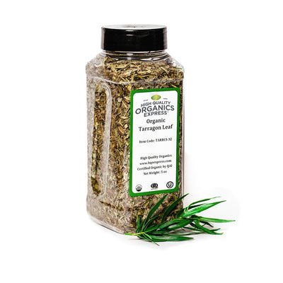 High Quality Organics Express Tarragon Leaf Jar