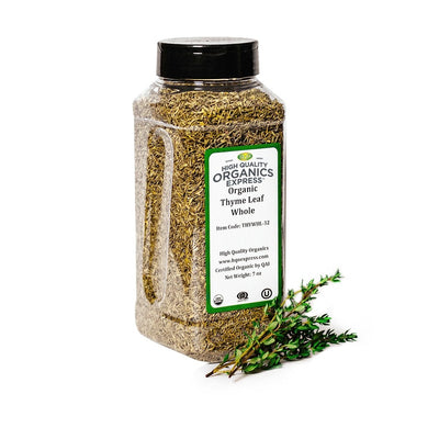 High Quality Organics Express Thyme Leaf Jar