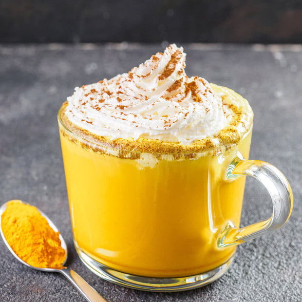 High Quality Organics Express Turmeric Latte