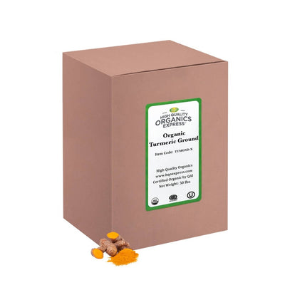 High Quality Organics Express Tumeric Box