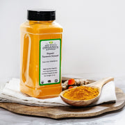 High Quality Organics Express Tumeric Powder Display