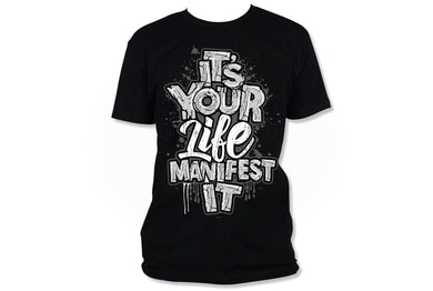 Manifest It Grey/White (Iron On Transfer Sheet Only) - ME Customs, LLC