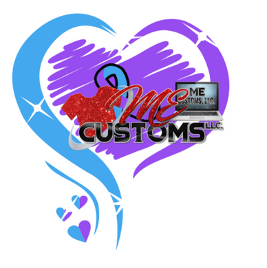 Awareness Heart Dual (SVG/PNG) - ME Customs, LLC