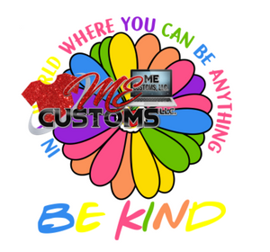 Be Kind (Awareness Autism) (SVG/PNG) - ME Customs, LLC