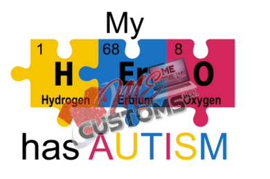 My Hero has Autism..(SVG/PNG) - ME Customs, LLC