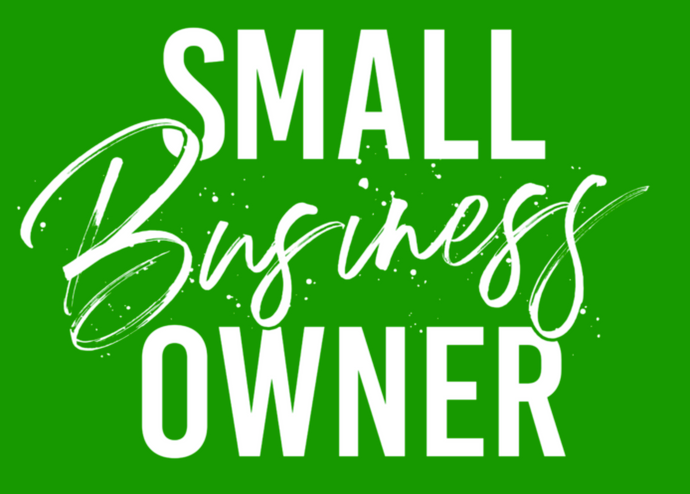 Small Business Owner *Lime*(Iron On Transfer Sheet Only) - ME Customs, LLC