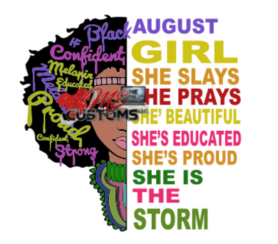 She Is The Storm 2020 (SVG) - ME Customs, LLC