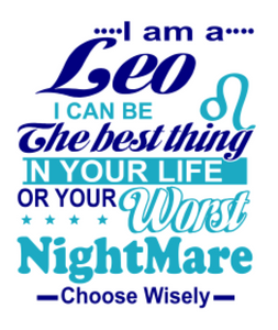 Worst Nightmare All Zodiacs Included (SVG) - ME Customs, LLC