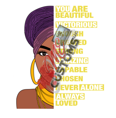 You Are Beautiful (SVG) - ME Customs, LLC