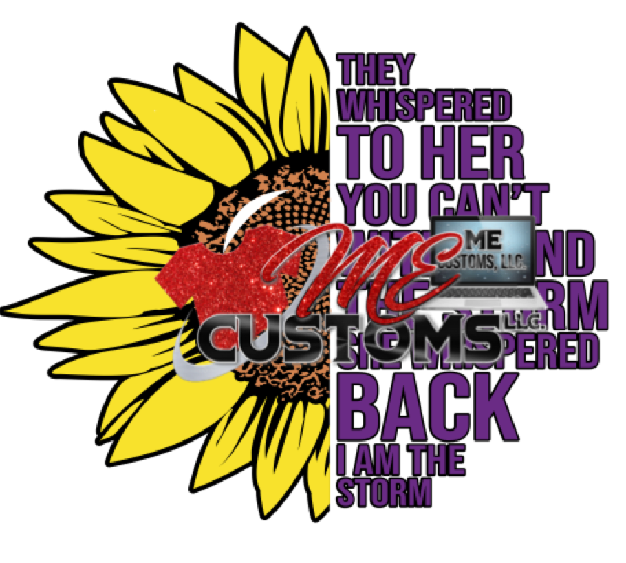 Sunflower Storm (SVG) - ME Customs, LLC