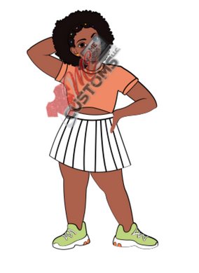 Tennis Chic (SVG)