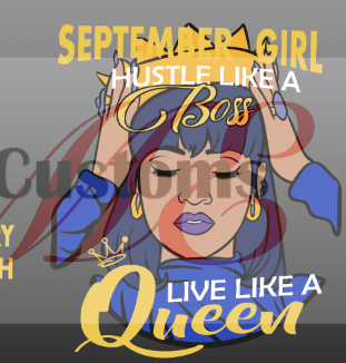 Hustle Like A Boss (All Months) - ME Customs, LLC