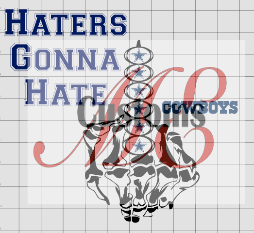Haters Gonna Hate (Sports Inspired) - ME Customs, LLC