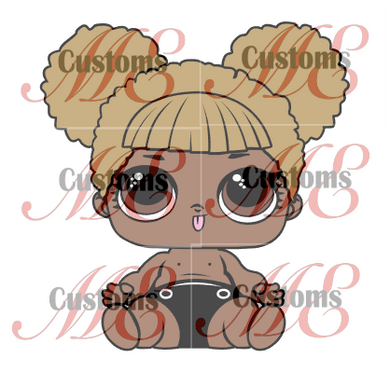 Doll Inspired SVG Design Bundle for Kid's Dress - ME Customs, LLC