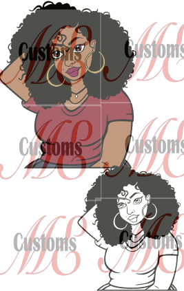 Plus Size Girl 1 - ME Customs, LLC