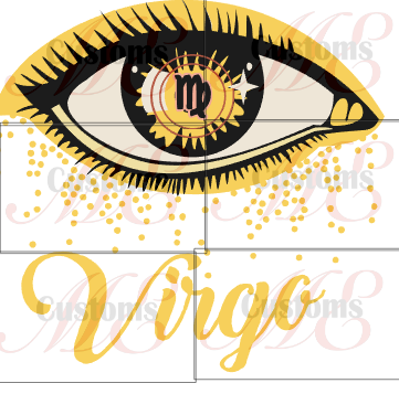 Zodiac Eye (All Zodiacs) - ME Customs, LLC