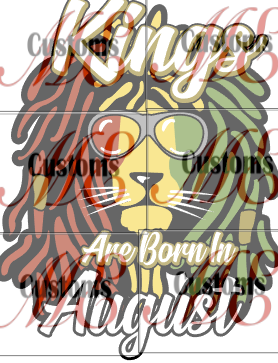 Kings Born 2 (All Months) - ME Customs, LLC