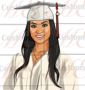Grad Girl (PNG Only) - ME Customs, LLC