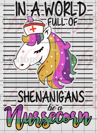 Nurse Unicorn - ME Customs, LLC