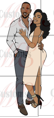 Couple in Love SVG - ME Customs, LLC