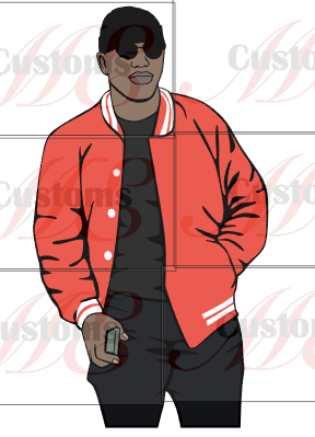 Man in Red (Kappa Inspired) - ME Customs, LLC