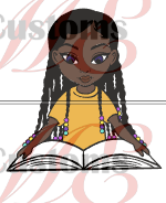 Child Reading 2 - ME Customs, LLC