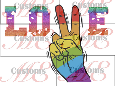 Pride Love - ME Customs, LLC