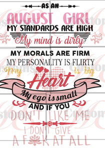 Standards High Birthday Shirt - ME Customs, LLC