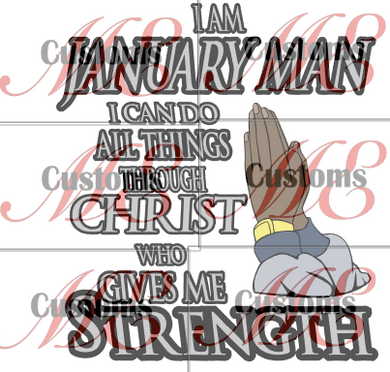 Who Gives Me Strength (Man Version) - ME Customs, LLC
