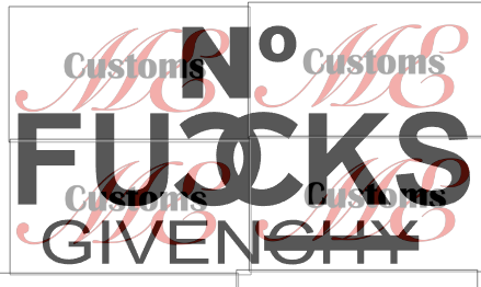 No FvCks Given - ME Customs, LLC