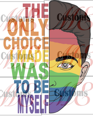 Pride_Be Yourself - ME Customs, LLC