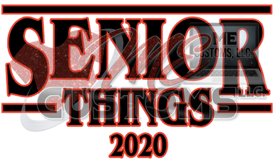 Senior Things 2020 - ME Customs, LLC