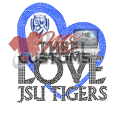 JSU Love (Dots Only) - ME Customs, LLC
