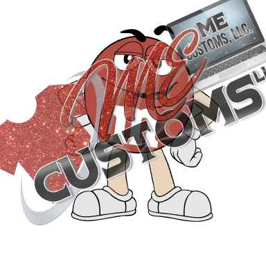 Red M&M (Inspired) - ME Customs, LLC