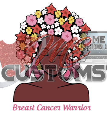 Warrior with Flowers - ME Customs, LLC