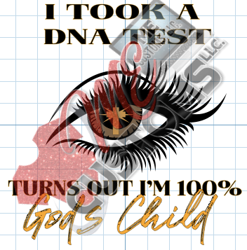 100% God's Child - ME Customs, LLC