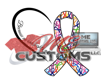 No One Fights Alone (Cancer) - ME Customs, LLC